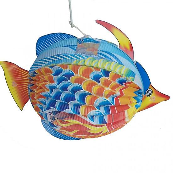 đèn Lồng Trung Thu Bằng Giấy Cỡ To Con Cá 7 Màu Muagiumem
