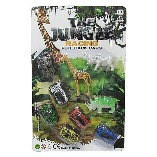 Đồ Chơi Vỉ Khám Phá Vườn Thú Safari-10022-6B-Girl Toys
