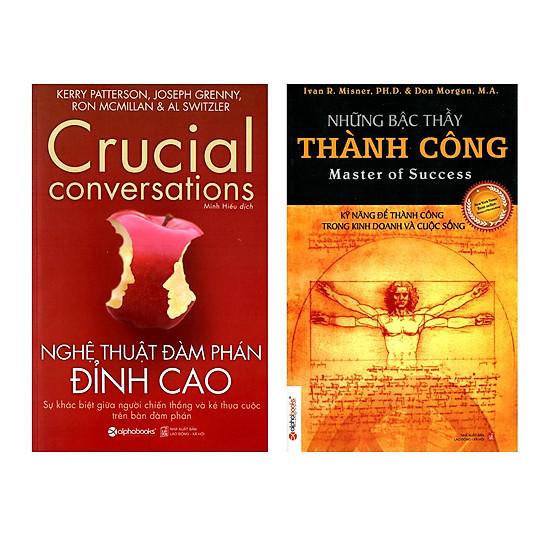 Combo Sách Kỹ Năng Làm Việc :  Nghệ Thuật Đàm Phán Đỉnh Cao + Những Bậc Thầy Thành Công