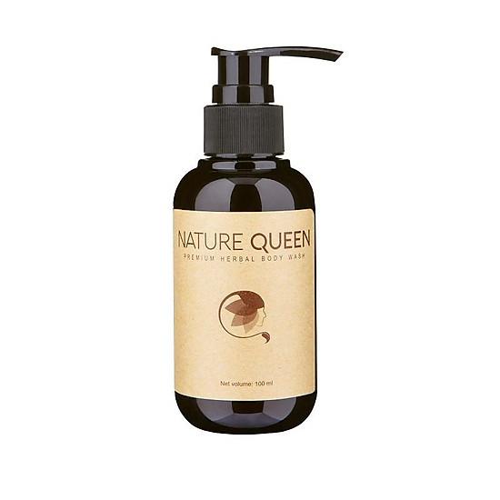 Kết quả hình ảnh cho Dầu gội giảm rụng tóc từ Thảo dược Nature Queen 100ml