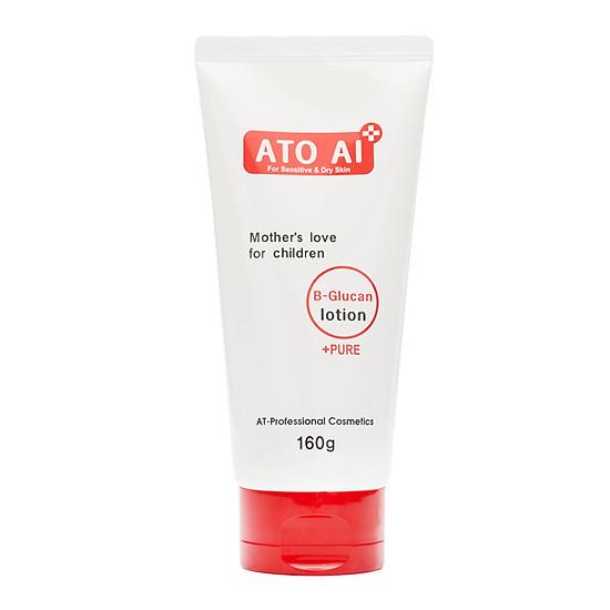 Lotion sữa dưỡng ẩm dành cho da bé bị chàm da, hăm tã, viêm da cơ địa ATO AI 160g