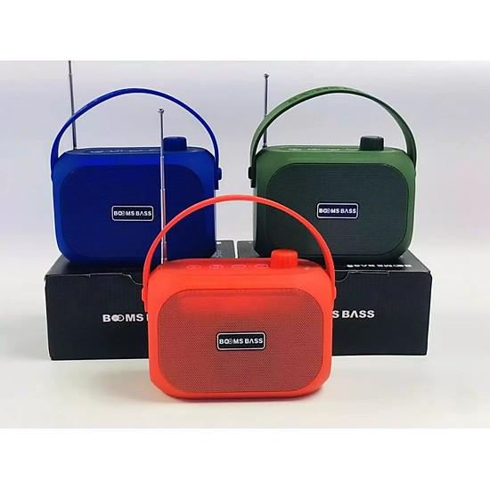 Loa bluetooth không dây mini LANITH bass mạnh Boombass L15 - Tặng cáp sạc 3 đầu – Thiết kế nhỏ gọn, thời trang – Kết nối không dây bluetooth, kết nối USB, thẻ nhớ - LB000015.CAP0001 - Đen-1