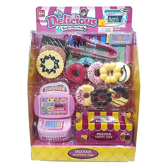 Bộ Đồ Chơi Tiệm Bánh Donut Mini-832-44-Girl Toys