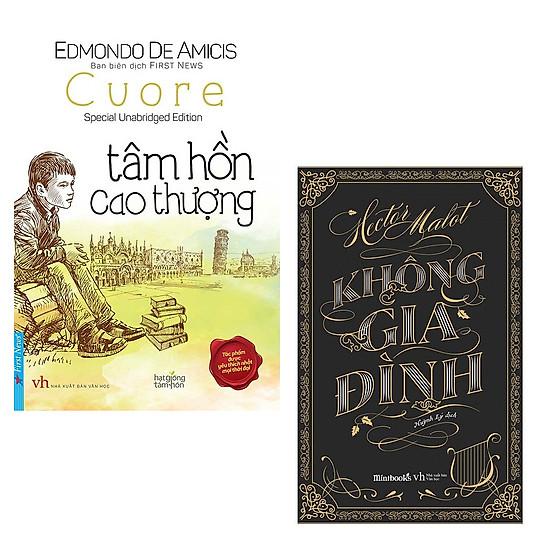 Combo Tâm Hồn Cao Thượng + Không Gia Đình