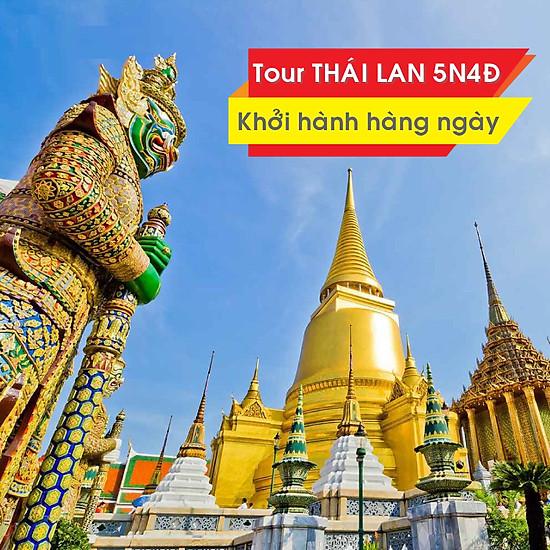 Tour Thái Lan: Bangkok - Pattaya - Đảo Coral 5N4Đ Khởi Hành Hàng Ngày &  Lễ/Tết   Tiki.vn