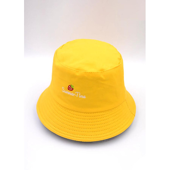 Mũ vành 2 mặt Summer time màu sắc nổi bật