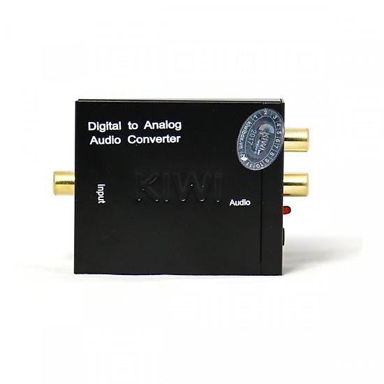Bộ Chuyển đổi tín hiệu âm thanh KA01 Kiwivision (chuyển từ Digital sang Analog)