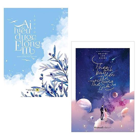 Combo 2 Cuốn Tiểu Thuyết Lãng Mạn Hay Nhất Mọi Thời Đại: Theo Anh Bay Đến Tận Cùng Thế Giới + Ai Hiểu Được Lòng Em (Tái Bản) / Tặng Kèm Bookmark Thiết Kế Happy Life