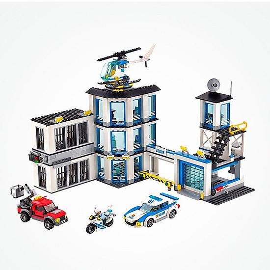 Bộ lắp ráp city cities – trụ sở cảnh sát thành phố