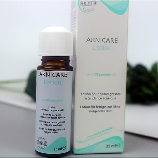 Lotion trị mụn bọc, mụn mủ, giảm sưng viêm Aknicare Treatment Lotion 25ml