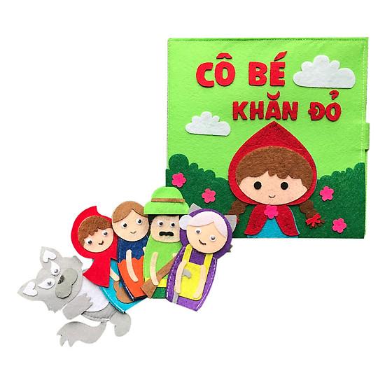 Hình đại diện sản phẩm Sách Vải Sabe Kể Chuyện Cô Bé Quàng Khăn Đỏ
