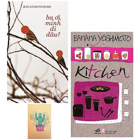 Combo Kitchen và Ba Ơi Mình Đi Đâu (Tặng Kèm Sổ Tay)