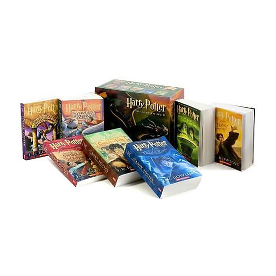 Harry Potter: Paperback Boxed Set: Books #1-7 - Scholastic US Version