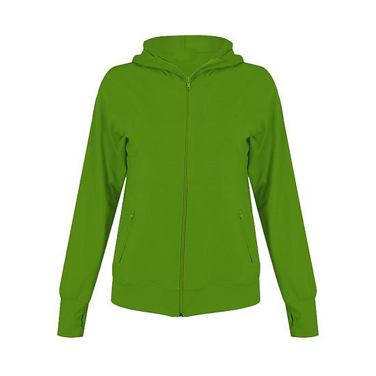 Áo khoác nữ thoát nhiệt Nhật Bản GOKING, vải thun 100% cotton co giãn 4 chiều, kháng khuẩn khử mùi, thấm hút mồ hôi
