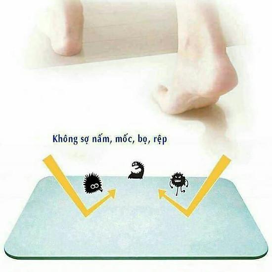 Thảm đá chùi chân siêu thấm Nhật Bản thấm hút nhanh chóng