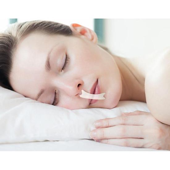 Hình ảnh Set 8 miếng dán chống ngáy ngủ nội địa Nhật Bản