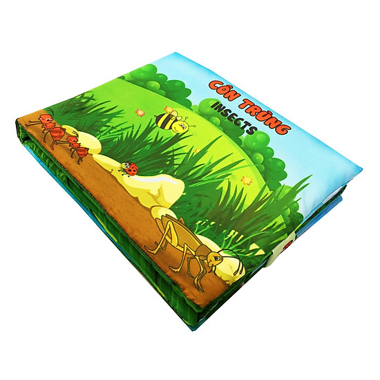 Sách Vải Pipovietnam Chủ Đề Côn Trùng
