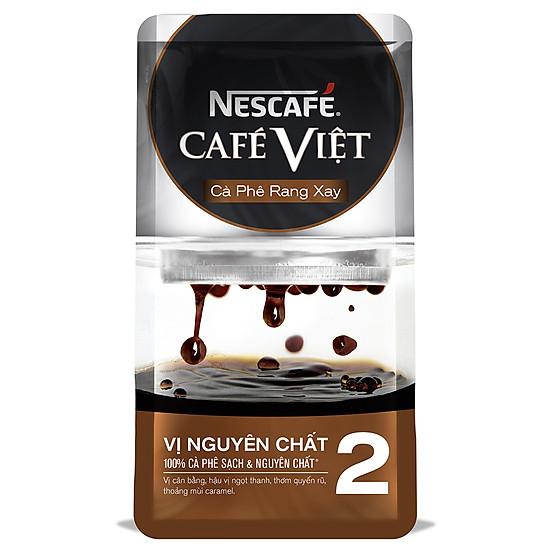 Nescafé Café Việt Cà Phê Rang Xay Vị Nguyên Chất 2 (250g)