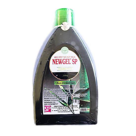 Gel mặt nạ lột mụn than tre hoạt tính Newgel SP 60g (Combo 2)