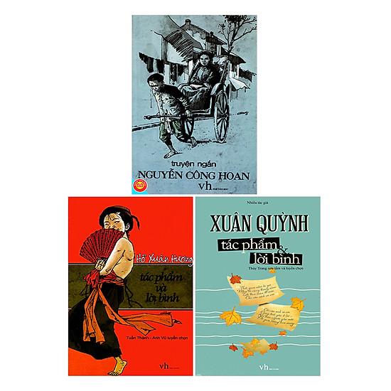 Combo Hồ Xuân Hương - Xuân Quỳnh - Nguyễn Công Hoan (Tái Bản)