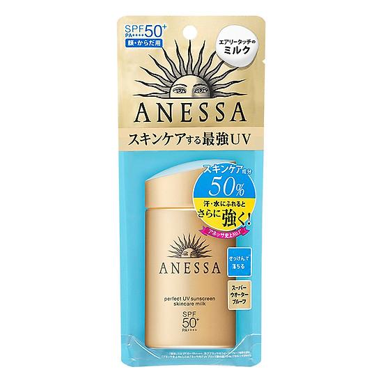 Kem Chống Nắng Anessa Perfect UV Sunscreen Skincare Milk Spf 50+ Pa++++ (60ml)