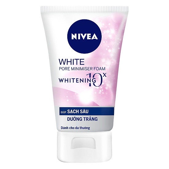 Sữa Rửa Mặt Trắng Da Nivea 5 Trong 1 (100g)