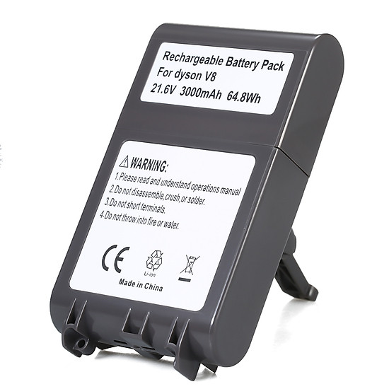 21 6V 3000mAh High Capacity Lithium Rechargeable Battery Pack Power Tools  Battery Replacement Battery for Dyson V8