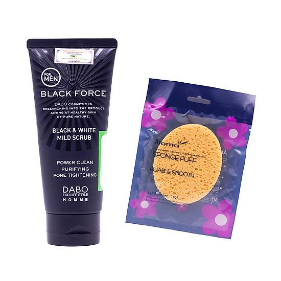 Sữa rửa mặt tốt nhất cho nam DABO Black Force