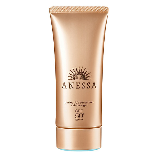 Kem Chống Nắng Anessa Perfect UV Sunscreen Skincare Gel Spf 50+ Pa++++ (90g)