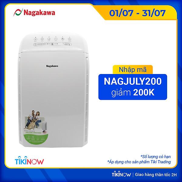 Máy Lọc Không Khí 5 Trong 1 Nagakawa Nag3501M (Diện Tích Sử Dụng: 30M2) – Hàng Chính Hãng