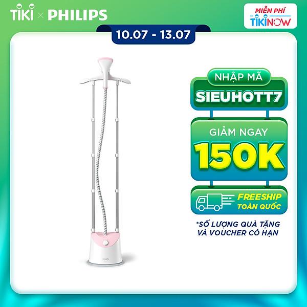 Bàn ủi hơi nước đứng Philips GC485/49 – Hàng Chính Hãng