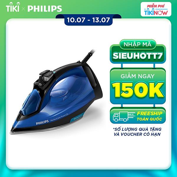 Bàn Ủi Hơi Nước Philips GC3920 (2500W) – Hàng chính hãng