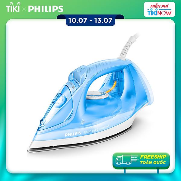 Bàn Ủi Hơi Nước Philips GC2676 – Blue – Hàng Chính Hãng