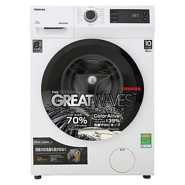 Máy giặt Toshiba Inverter 8.5 kg TW-BK95S2V(WK) lồng ngang