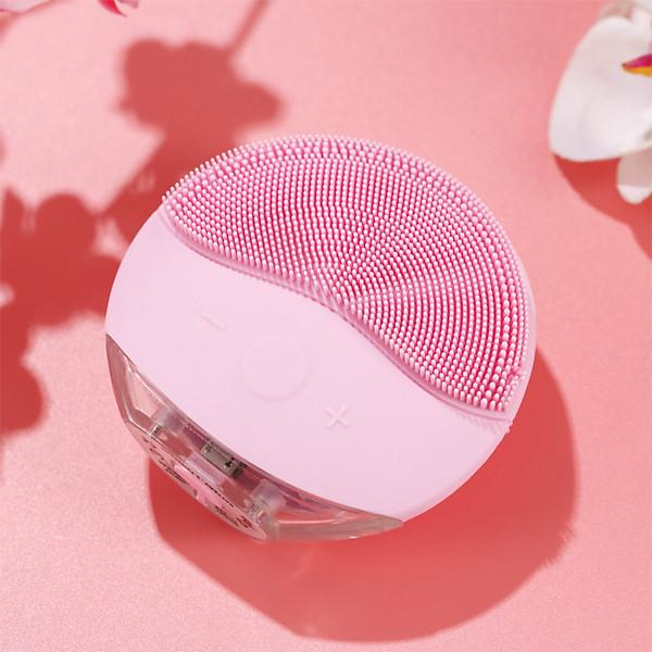 Máy Rửa Mặt Yandou Massage Silicon Dáng Tròn Làm Sach Da Công Nghệ Sóng Âm TL806