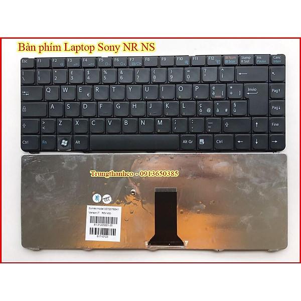 Bàn Phím dành cho Laptop Sony VGN-NR VGN-NS