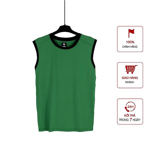 Áo Thun Nam Ba Lỗ Tank-Top Sát Nách Tập Gym Vải Dệt Kim Có Viền Thấm Hút Mồ Hôi Cao Cấp Big Sport