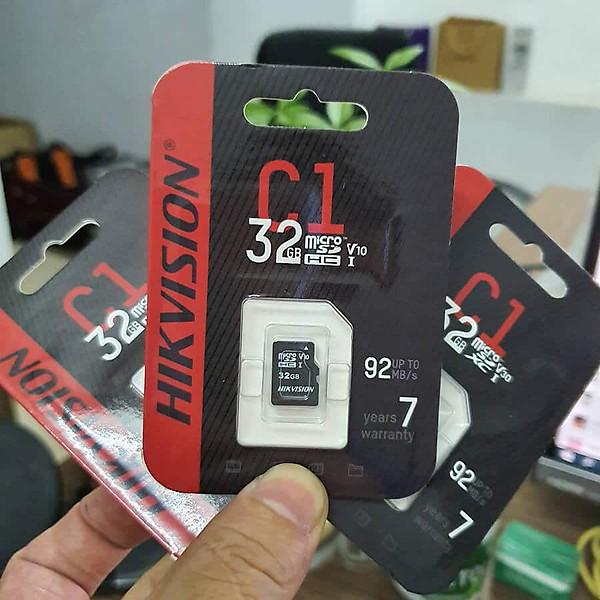 Thẻ nhớ Micro SD 32Gb cho camera IP Hikvision DS-UTF32G-L2