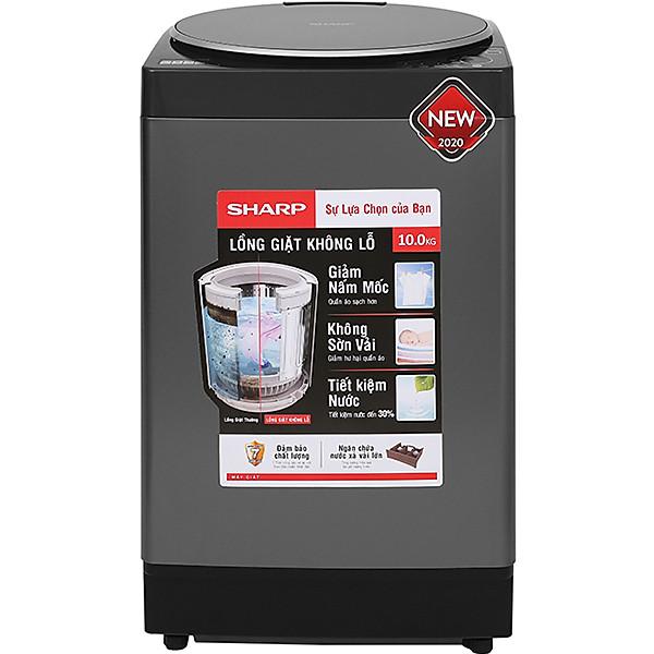 Máy giặt Sharp 10 kg ES-W100PV-H