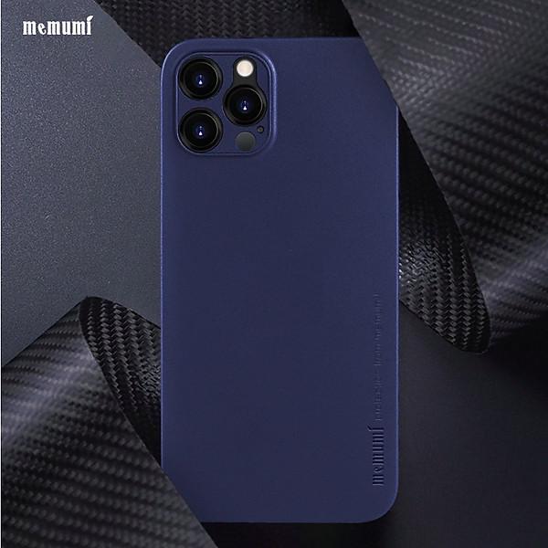 Ốp lưng lụa mỏng dành cho iPhone 12/ 12 Pro /12 Pro Max bảo vệ camera, siêu mỏng 0.3 mm – Hàng Chính Hãng Memumi
