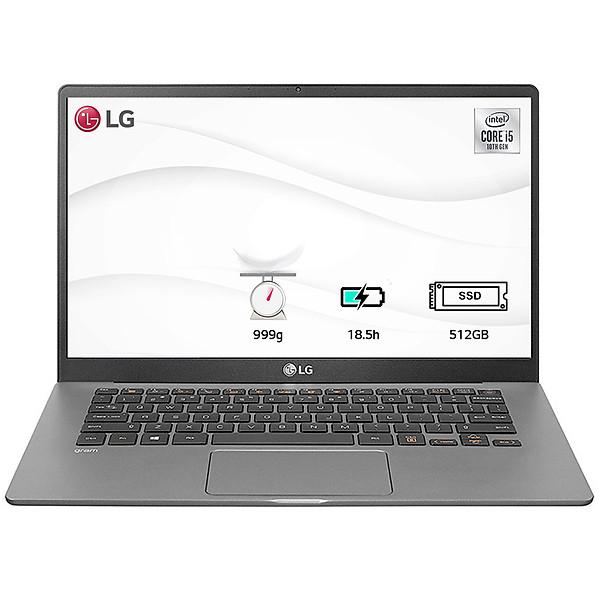 Laptop LG Gram 2020 14ZD90N-V.AX55A5 (Core i5-1035G7/ 8GB/ 512GB NVMe/ 14 FHD IPS/ NonOS) – Hàng Chính Hãng