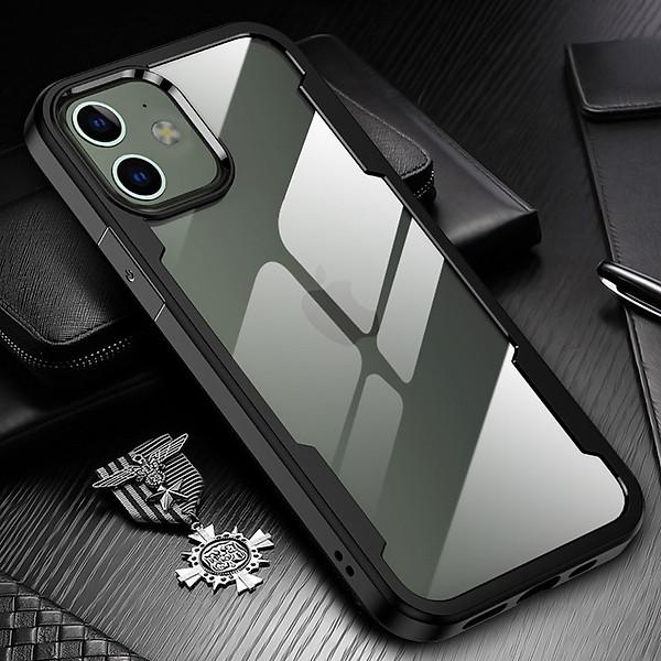 Ốp lưng chống sốc lưng trong cao cấp dành cho iPhone 12 / 12 Pro / 12 Pro Max / 12 Mini – Hàng chính hãng