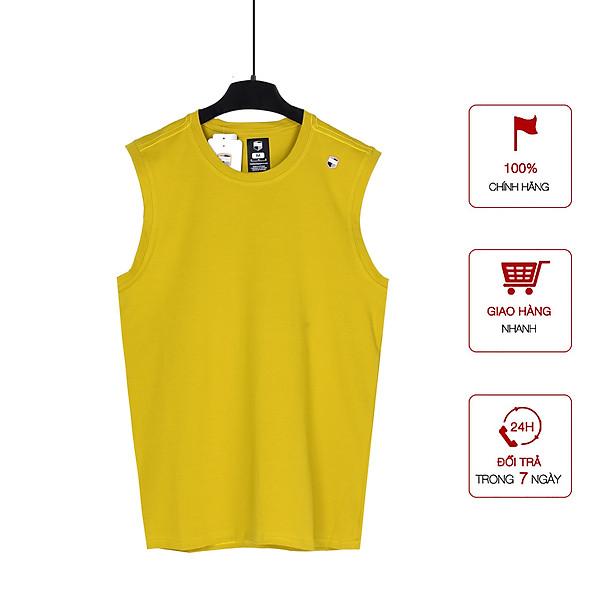Áo Thun Nam Ba Lỗ Cotton Sát Nách, Tank-Top Trơn Basic Form Rộng, Tập Gym Cổ Tròn Co Dãn Cao Cấp Big Sport