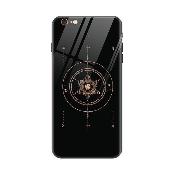 Ốp lưng kính cường lực hình thư pháp phong thủy trừu tượng dành cho điện thoại Iphone 6/ 6S/ 6Plus/ 6S Plus/ 7/ 7 Plus/ 8/ 8 Plus/ X/ XS/ XS Max/ XR/ 11/ 11 Pro/ 11 Pro Max