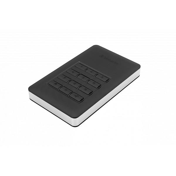 Ổ cứng di động Verbatim 2.5′ USB 3.0 w/Keypad Access 2 TB (Đen) – Hàng chính hãng