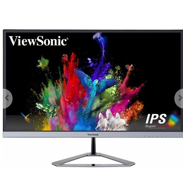 Màn hình LCD VIEWSONIC VX2476-SH (1920 x 1080/IPS/75Hz/4 ms) – Hàng Chính Hãng