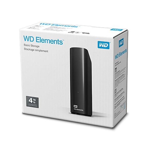 Ổ cứng ngoài WD Elements 4TB usb 3.0 desktop – Hàng chính hãng