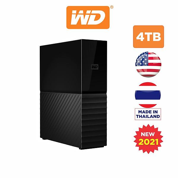 Ổ Cứng Di Động WD My Book 4TB USB 3.0 – WDBBGB0040HBK-SESN – Hàng Chính Hãng
