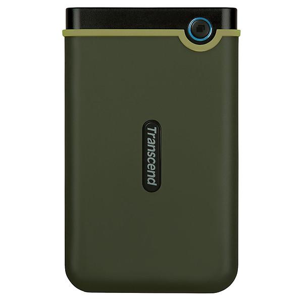Ổ Cứng Di Động Transcend StoreJet M3G 2TB Slim USB 3.1 – Hàng Chính Hãng
