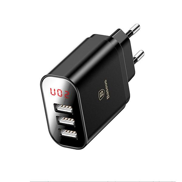 Củ sạc nhanh 3 cổng USB cao cấp Baseus (CCALL-BH01) – Hàng Nhập Khẩu